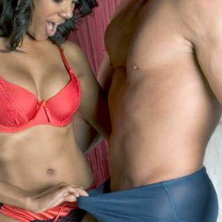 Couple after penis enlargement