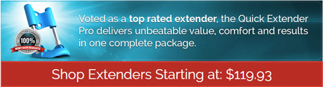 Quick Extender Pro delivers unbeatable value, comfort and results