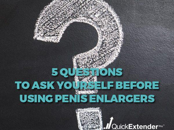 Using Penis Enlargers