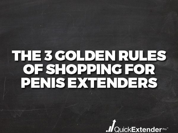 Shopping for Penis Extenders