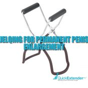 Jelqing for Permanent Penis Enlargement