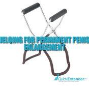 Jelqing for Permanent Penis Enlargement