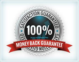 Quick Extender Pro 6 Month Satisfaction Guarantee